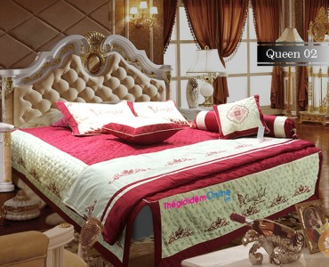 Bộ chăn ga gối Queenlash Q02
