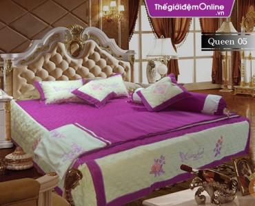 Bộ chăn ga gối Queenlash Q05